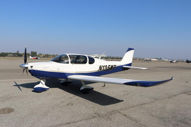 The first US-based Sling TSi N135WT at the Torrance, CA airport.