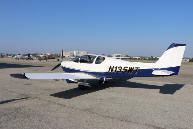 The Sling TSi at the Torrance, CA airport.