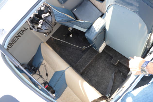 The Sling TSi aft seating area.